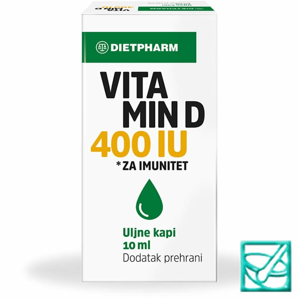 FIDI VITAMIN D 400IU kapi 10ml