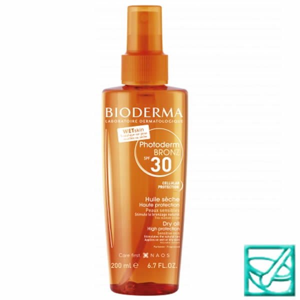 BIODERMA PHOTO.BRONZ OIL SPF30 200ml