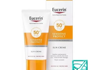 EUCERIN SUN krema/lice SENSITIVE PROTECT SP50+ 50ml 63842