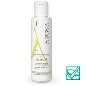 ADERMA EXOMEGA gel 2u1 500ml