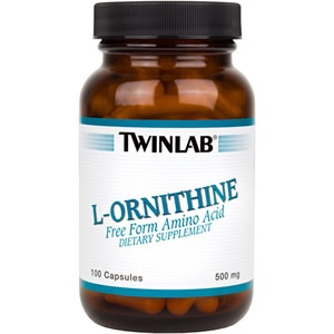 TW L-ORNITHINE caps 100x500mg