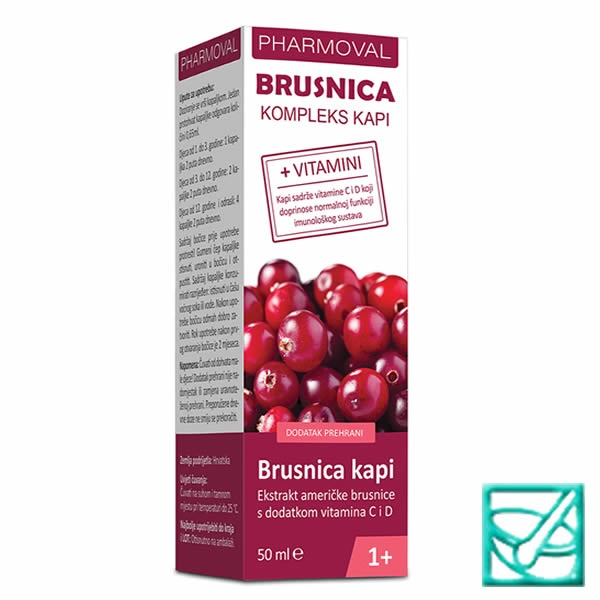 PHARMOVAL BRUSNICA complex kapi 50ml