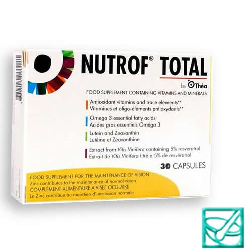 NUTROF TOTAL caps a30
