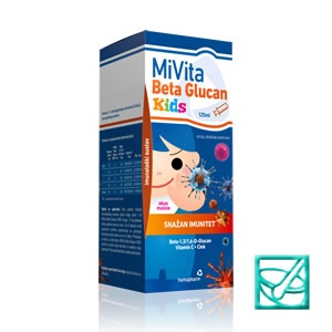 HAMAPHARM MIVITA BETA GLUCAN KIDS 125ml