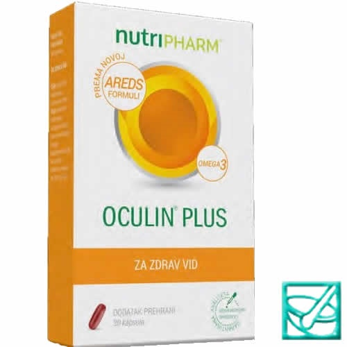 NUTRIPHARM OCULIN PLUS caps a30