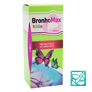 HAMAPHARM BRONHOMAX KIDS sir 125ml