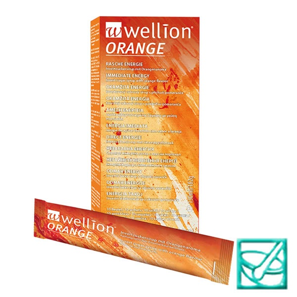 WELLION ORANGE tekući šećer a10