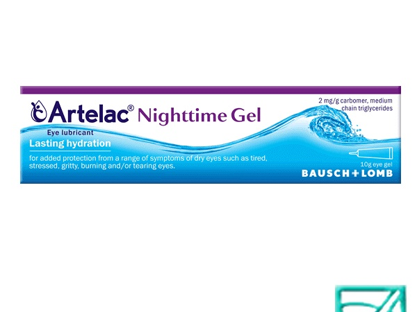 ARTELAC NIGHTIME gel 10ml