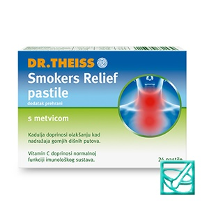 THEISS SMOKERS RELIEF pastile a24