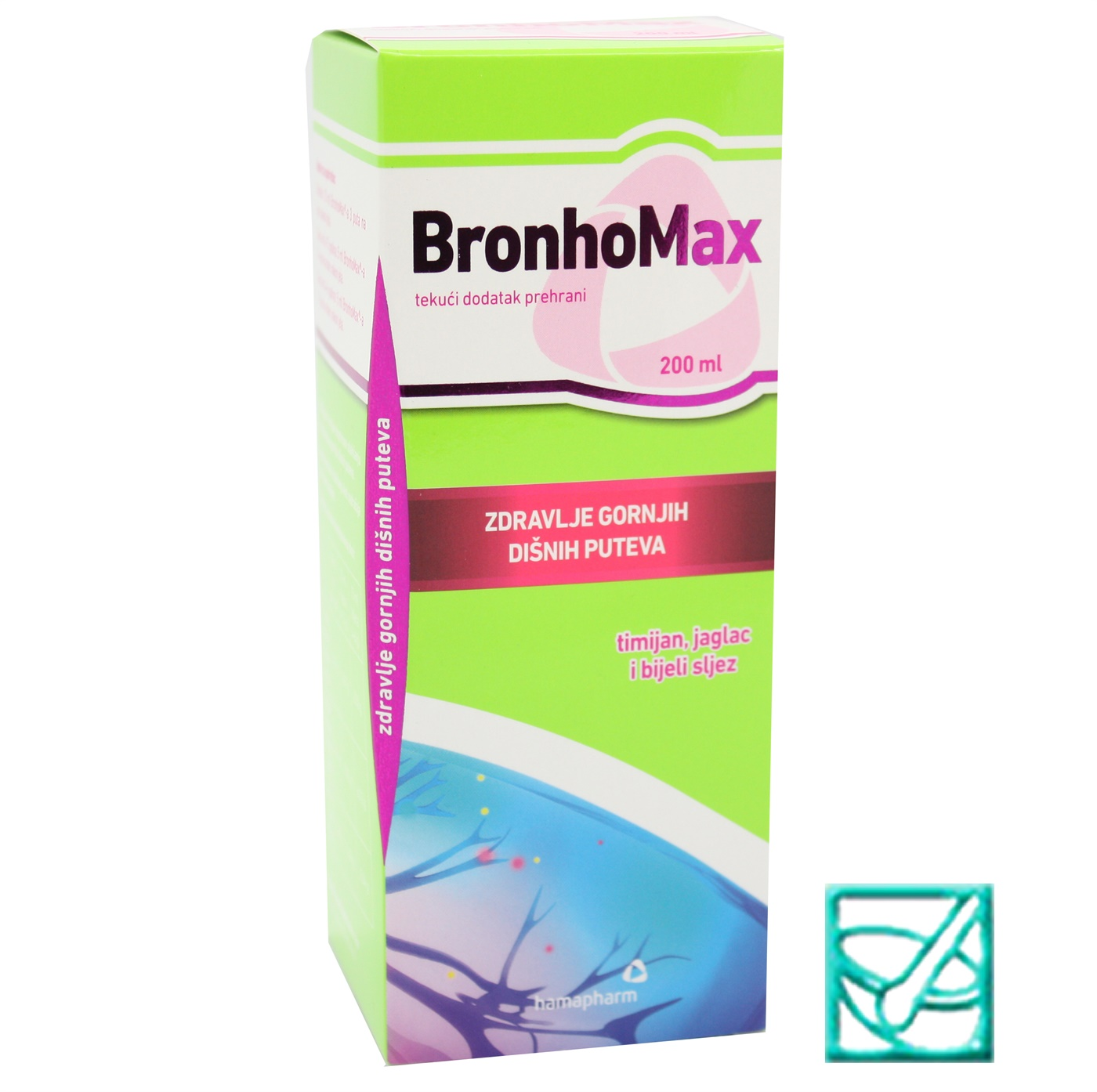 HAMAPHARM BRONHOMAX sir 200ml