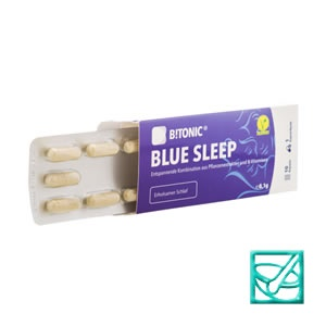 BITONIC BLUE SLEEP caps a10
