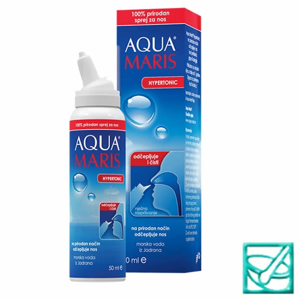 AQUA MARIS HYPERTONIC spray za nos 50ml