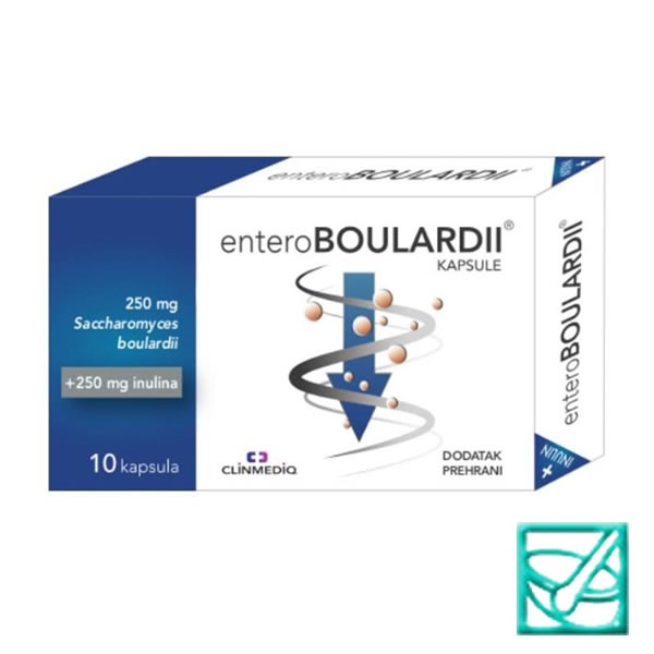ENTEROBOULARDII caps a10