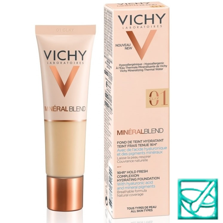 VICHY MINERAL BLEND HID.PUDER 01 CLAY 30ml