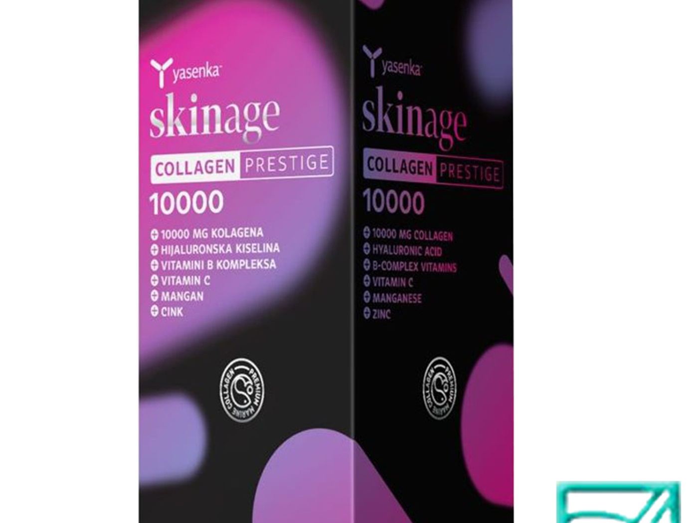 YASENKA SKINAGE COLLAGEN PRESTIGE 10000 500ml