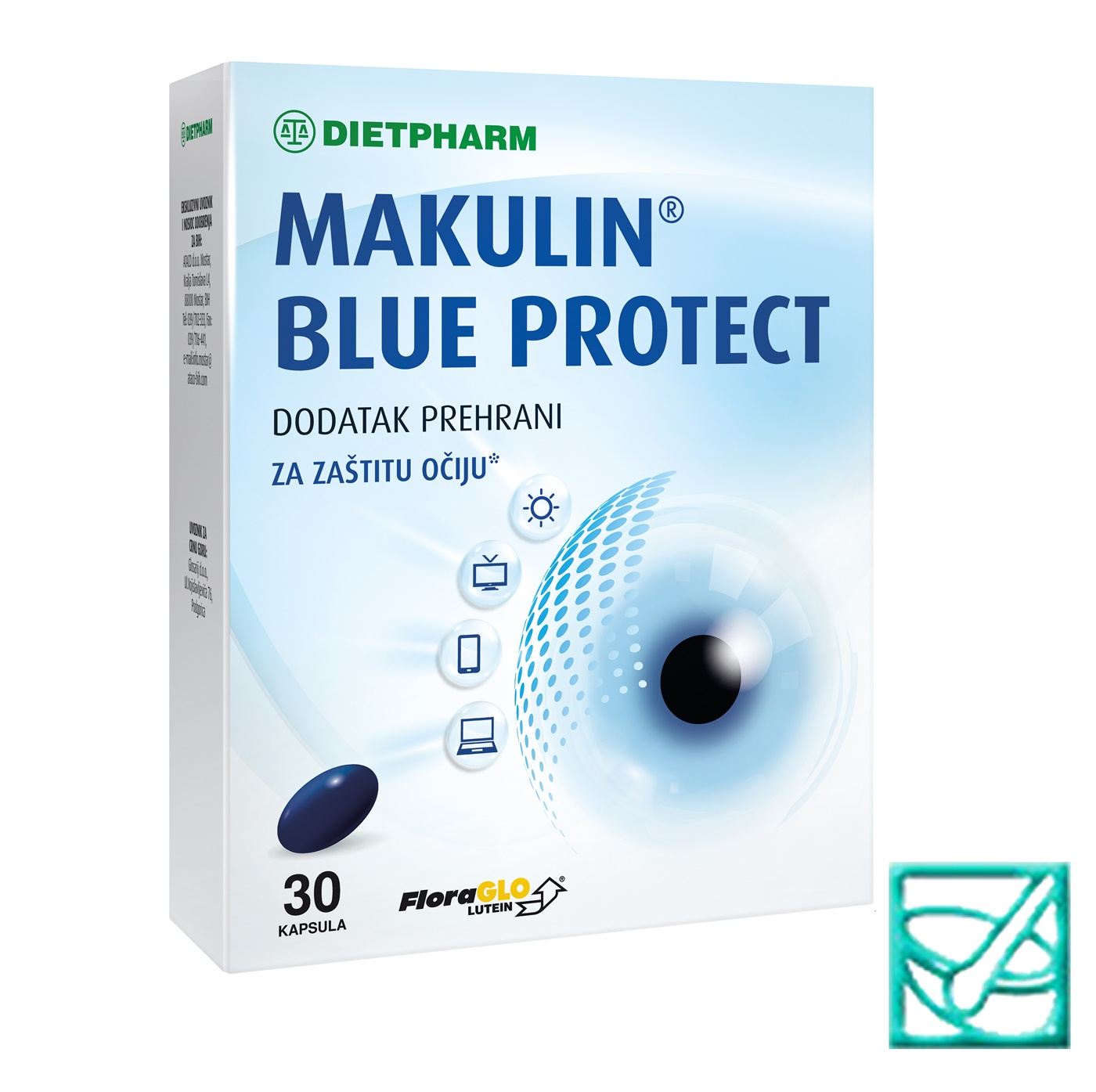 FIDI MAKULIN BLUE PROTECT caps a 30