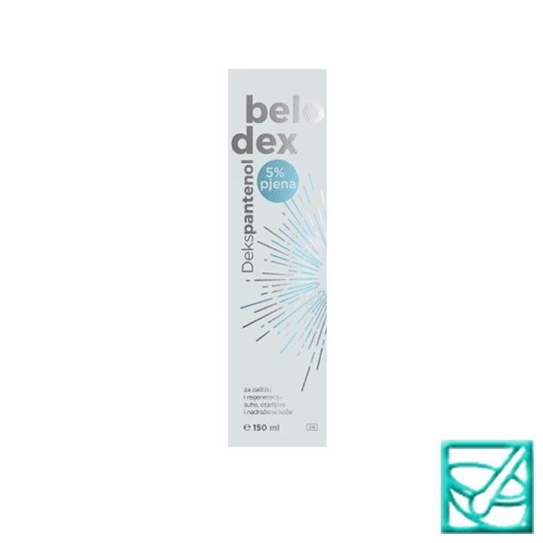 BELODEX 5% pjena 150ml