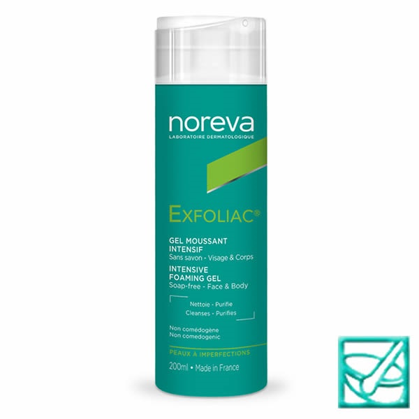 NOREVA EXFOLIAC intenzivni pjenasti gel 200ml