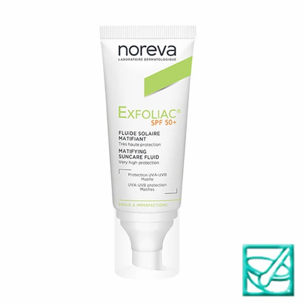 NOREVA EXFOLIAC MAT fluid SPF50+ 40ml