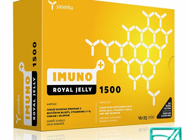 YASENKA ROYAL JELLY 1500 16x25ml