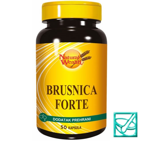 NW BRUSNICA forte a 50 kaps