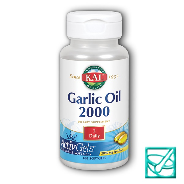 KAL GARLIC OIL 2000 a100